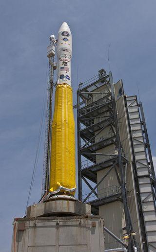Minotaur 1 Rocket Carrying ORS-1 Satellite