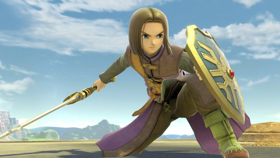 Dragon Quest's Hero could be coming to Super Smash Bros. Ultimate this month