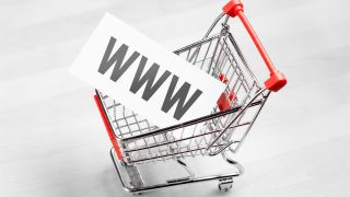 www in a shopping cart