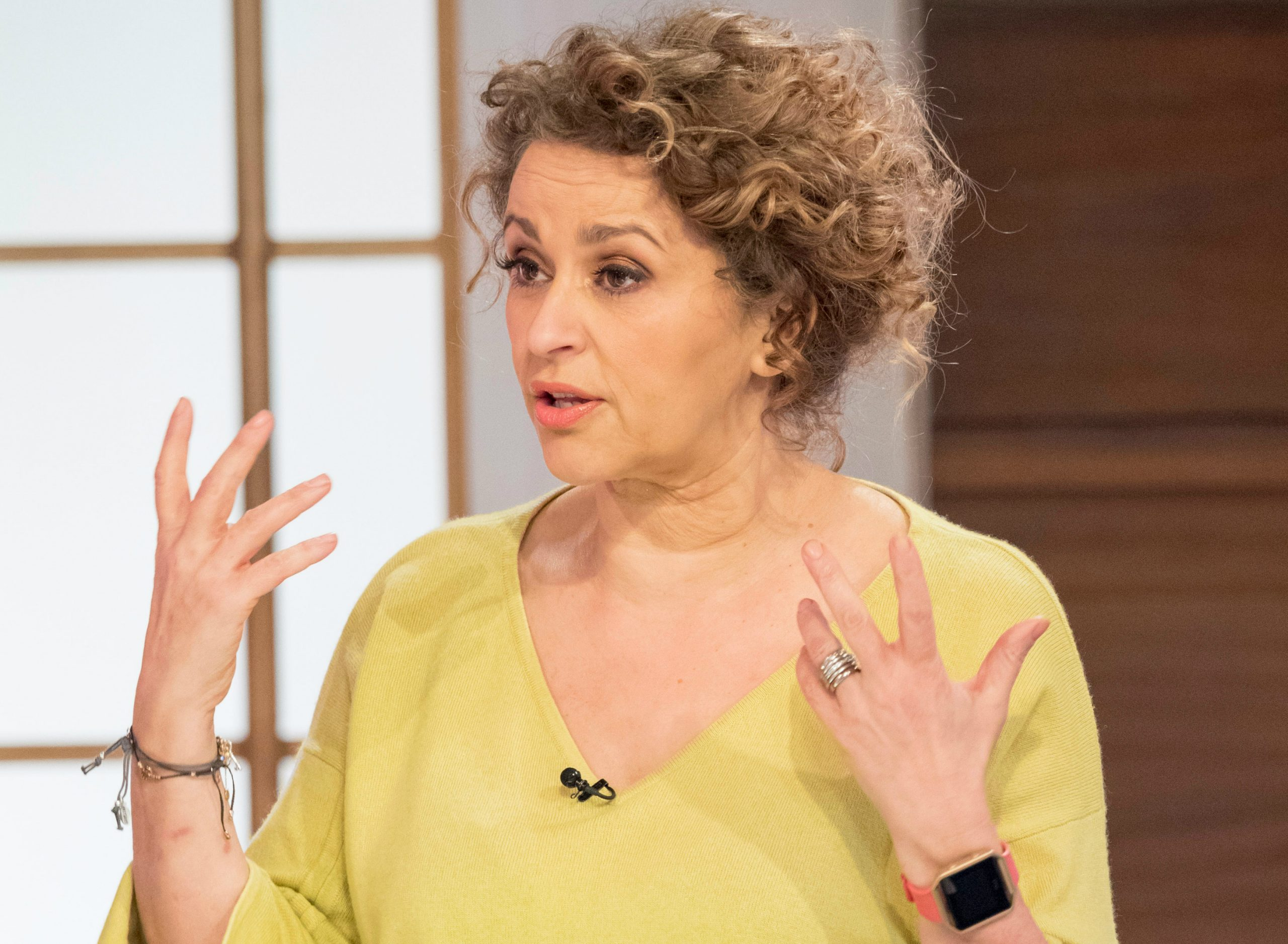 Nadia Sawalha Opens Up About Her Menopausal Eczema How She Cures It