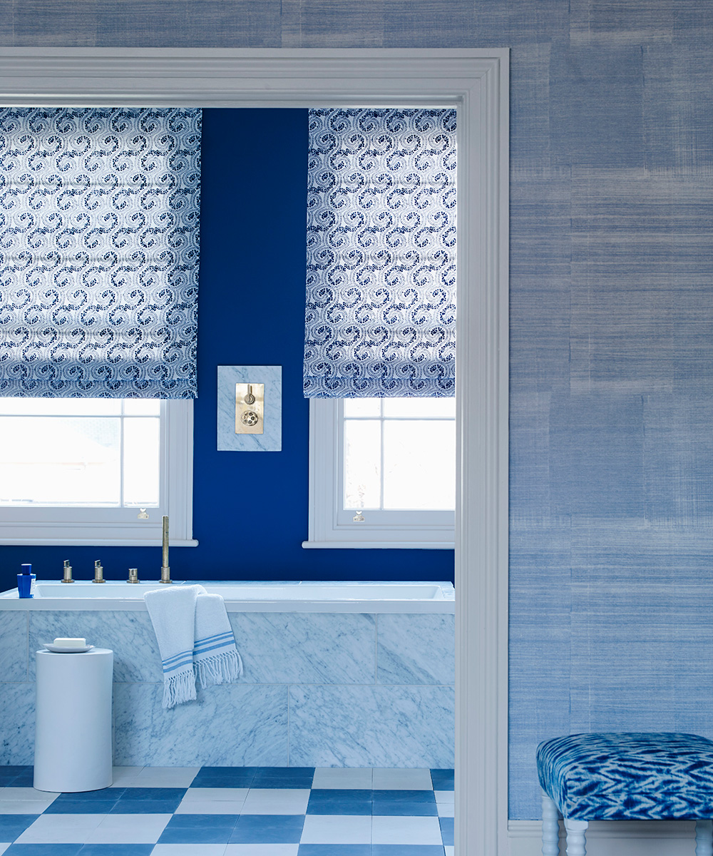 Bathroom with Greek influence and Moorish design | Homes & Gardens