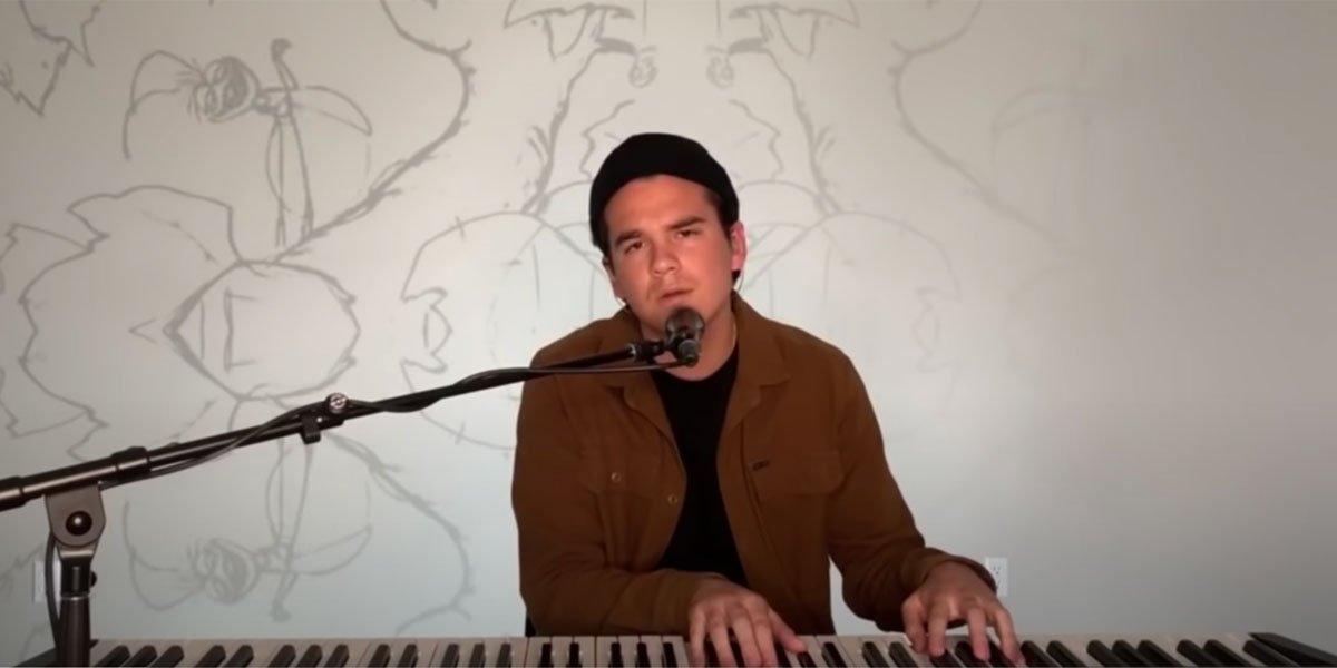 Johnny West on American Idol's Disney night 2020