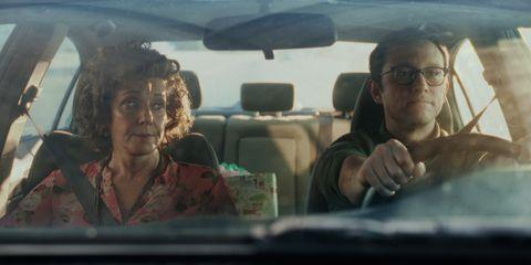 Debra Winger and Joseph Gordon-Levitt in 'Mr. Corman'.