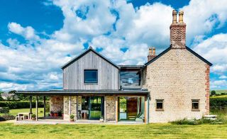 Two storey extension to a cottage