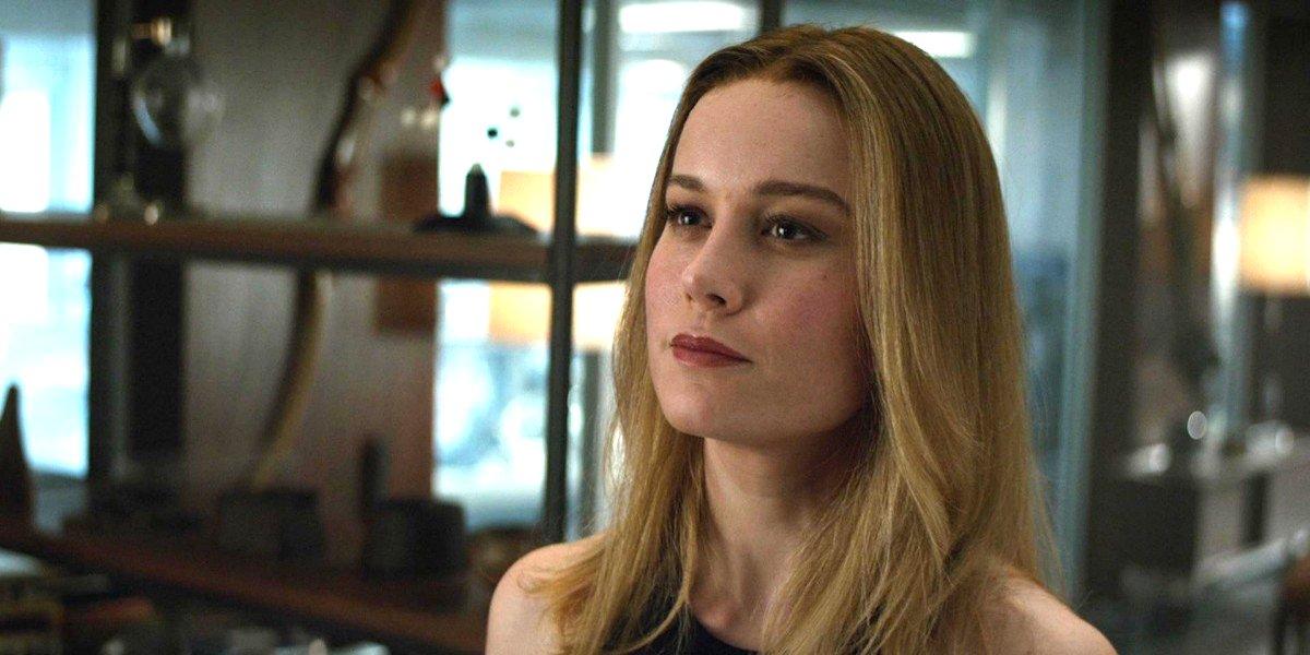 Brie Larson in 'Avengers: Endgame'