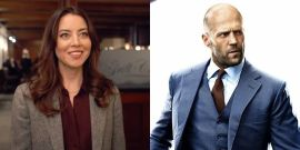 Jason Statham and Aubrey Plaza's New Spy Comedy Showed Off Some Footage, And They Look Fresh