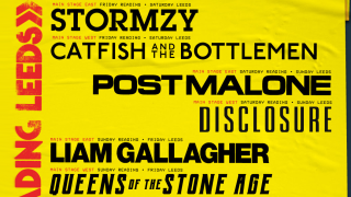 A poster of the reading and leeds festival headliners