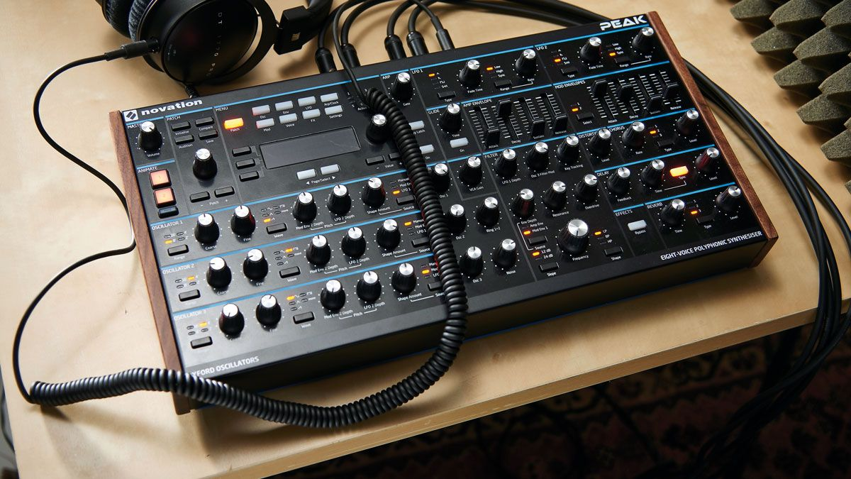 Novation Peak 1 2 firmware update is coming in time for