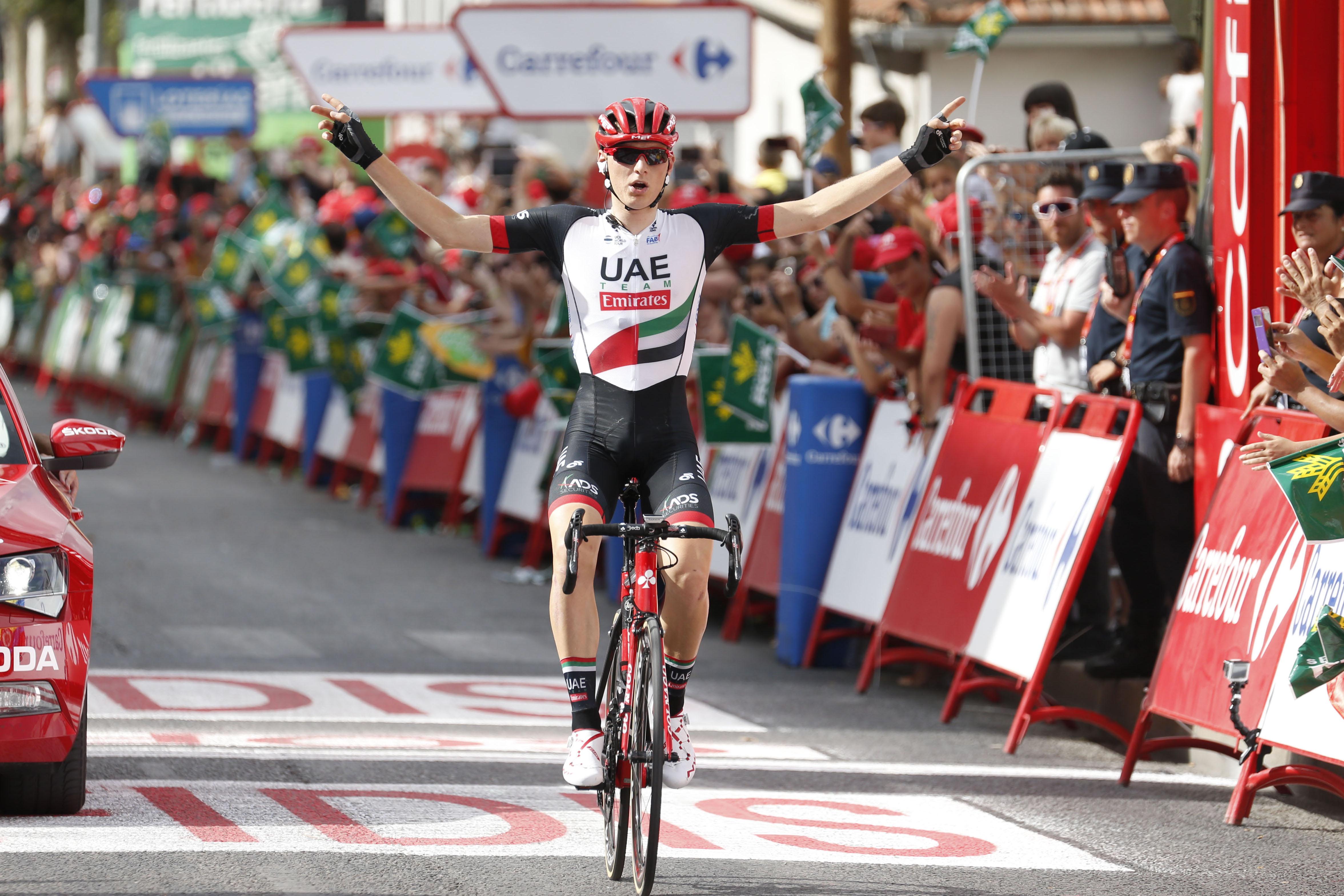 Maciej Mohoric took a stage victory at the Vuelta a España for UAE Photo    Yuzuru SUNADA e3272778c