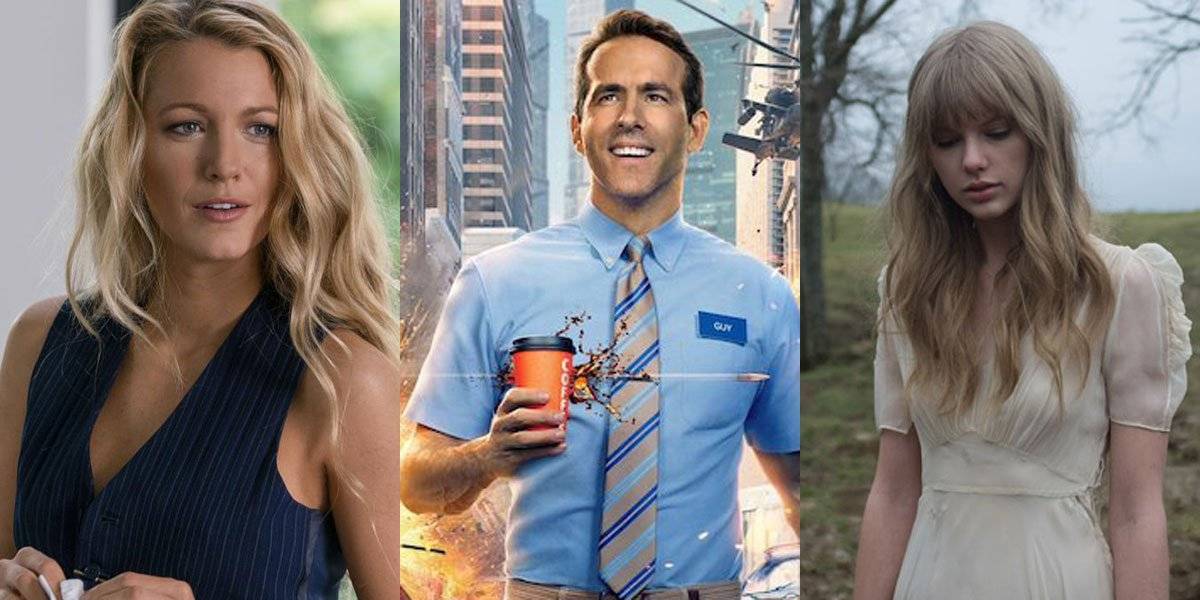 Blake Lively, Ryan Reynolds And Taylor Swift