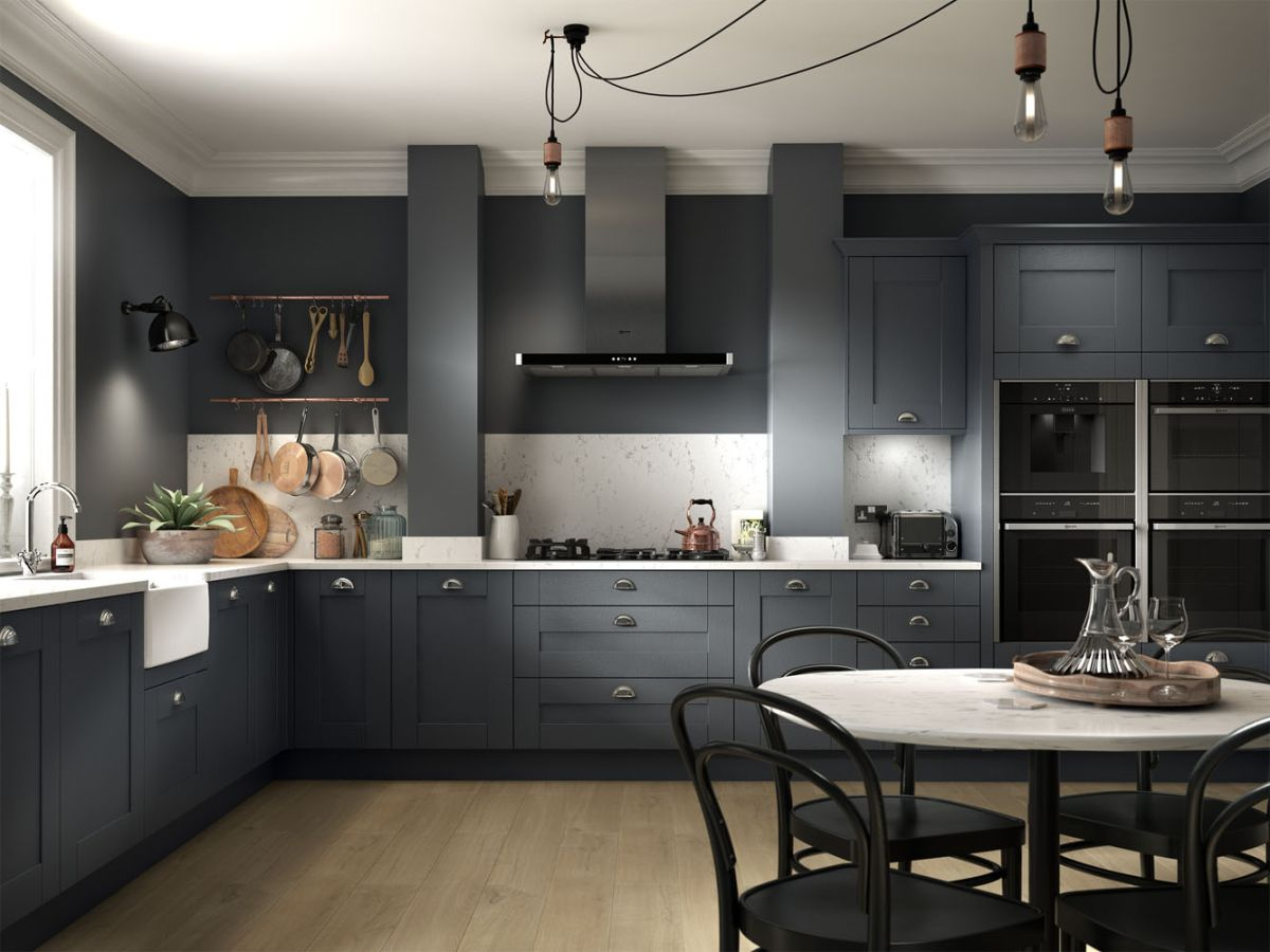 Black kitchen ideas 13 dark and dramatic looks to copy ...