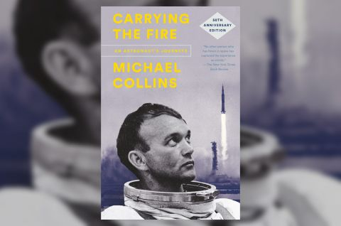 "Michael Collins' ""Carrying the Fire: An Astronaut's Journeys"" has been re-released in celebration of the 50th anniversary of the Apollo 11 first moon landing mission."
