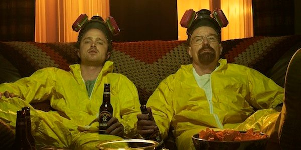 breaking bad yellow suits