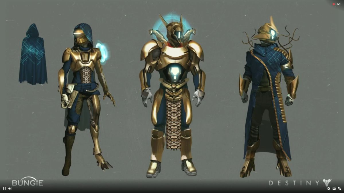 Destiny: Age of Triumph has new armor sets that give you