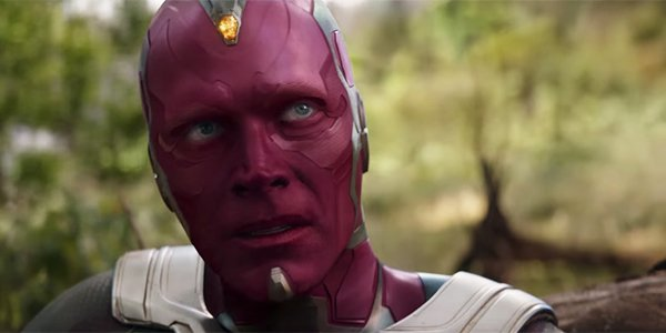 Paul Bettany as vision in avengers 4