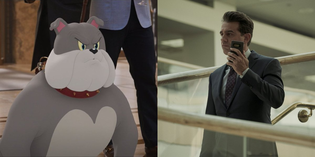 Spike in Tom and Jerry; Bobby Cannavale in Homecoming