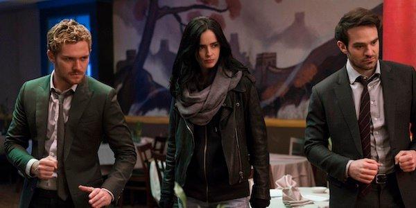 The Defenders Finn Jones Krysten Ritter Charlie Cox The Defenders Netflix