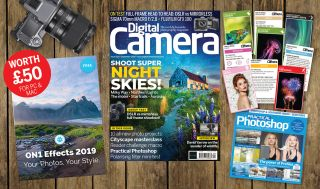 Get 12 free gifts with the September 2019 issue of Digital Camera