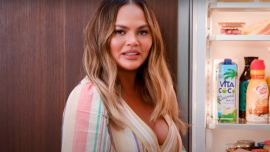 Chrissy Teigen Just Posted Quite The Awkward And Unflattering Photo (To Prove A Point)
