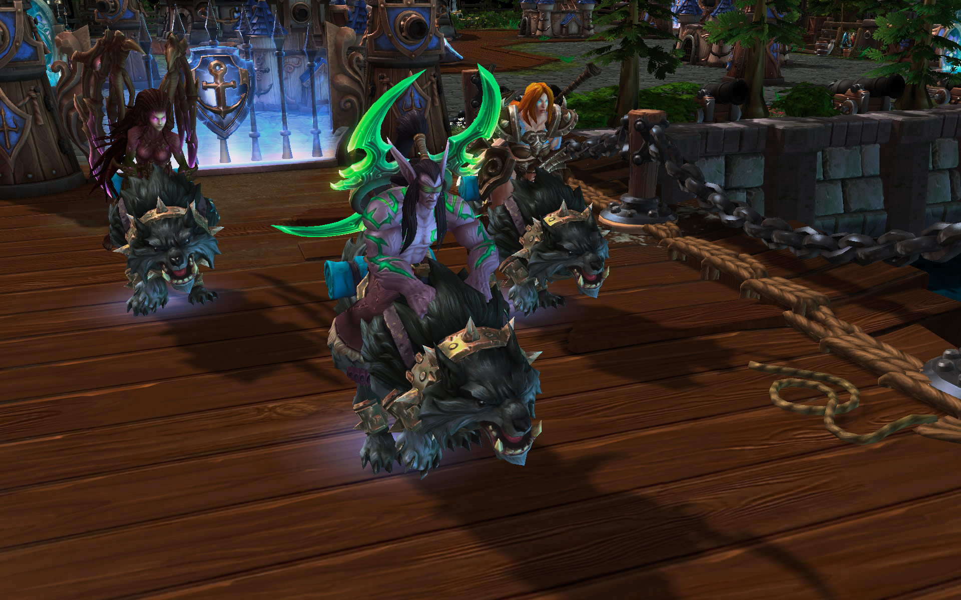 Heroes Of The Storm: Universes Collide In First Gameplay Trailer And Screenshots #29621