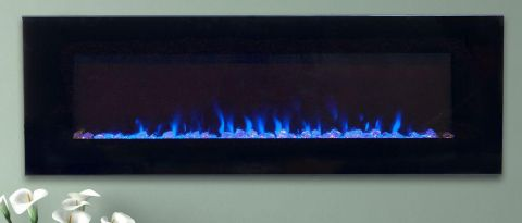 Northwest 54-inch Fire and Ice Electric Fireplace