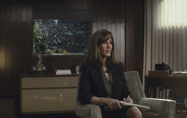 Hollywood star Julia Roberts talks her new TV drama Homecoming