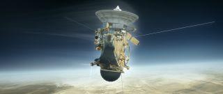 Cassini's Death Dive into Saturn