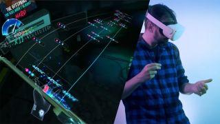 Unplugged virtual reality gameplay