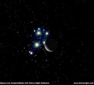 Moon to Hide Star Cluster Early July 20