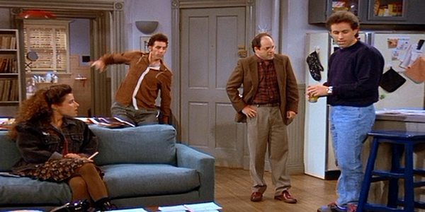 Seinfeld Elaine Kramer George Jerry