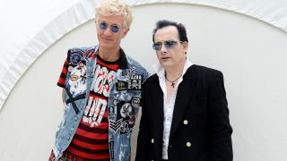The Damned's Captain Sensible and Dave Vanian