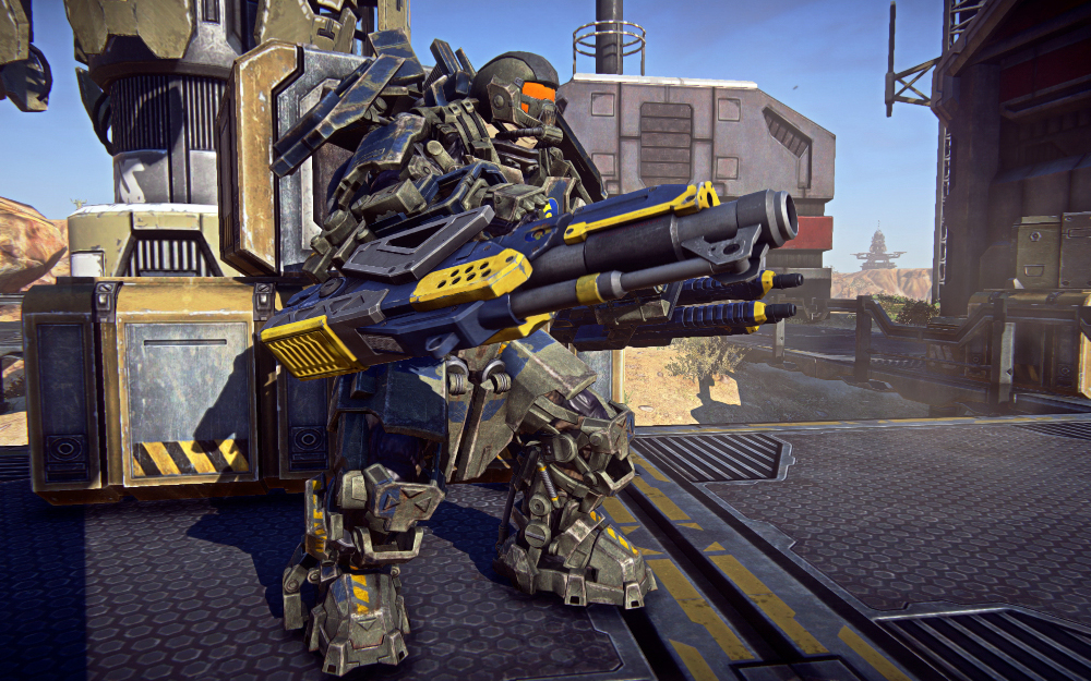 PlanetSide 2 MAX Suits Let You Become Iron Man #22137