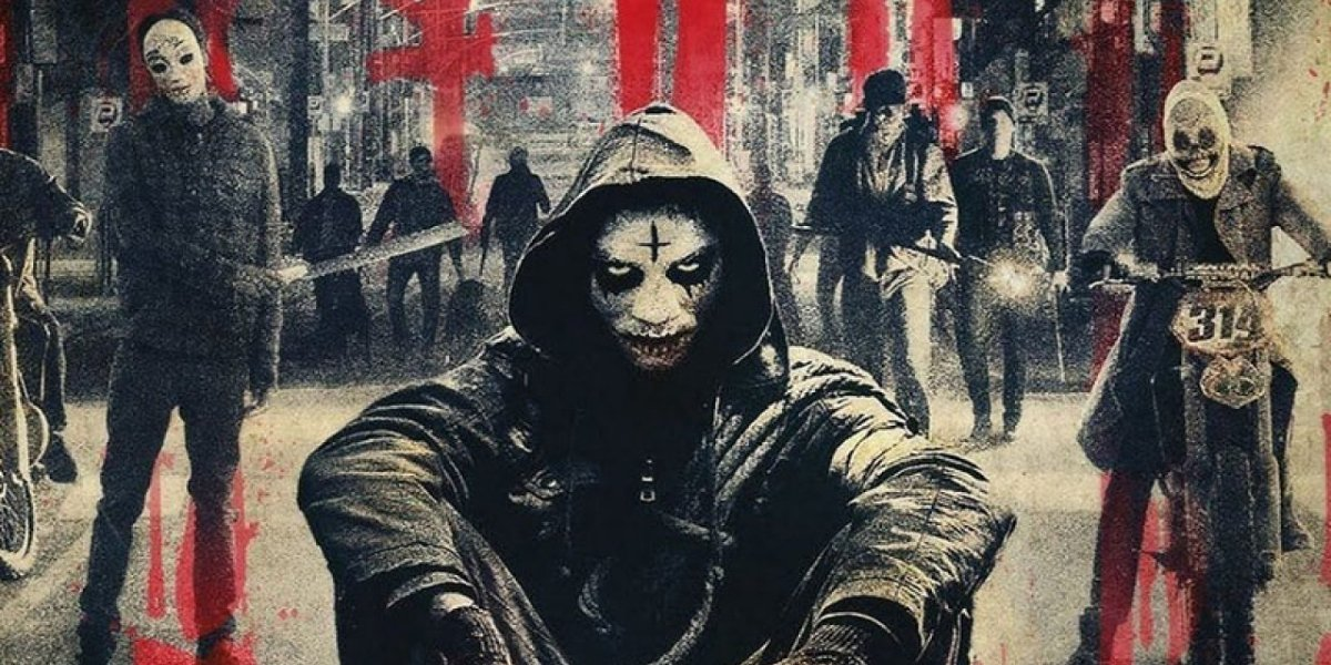 A bunch of Purgers in The Purge: Anarchy