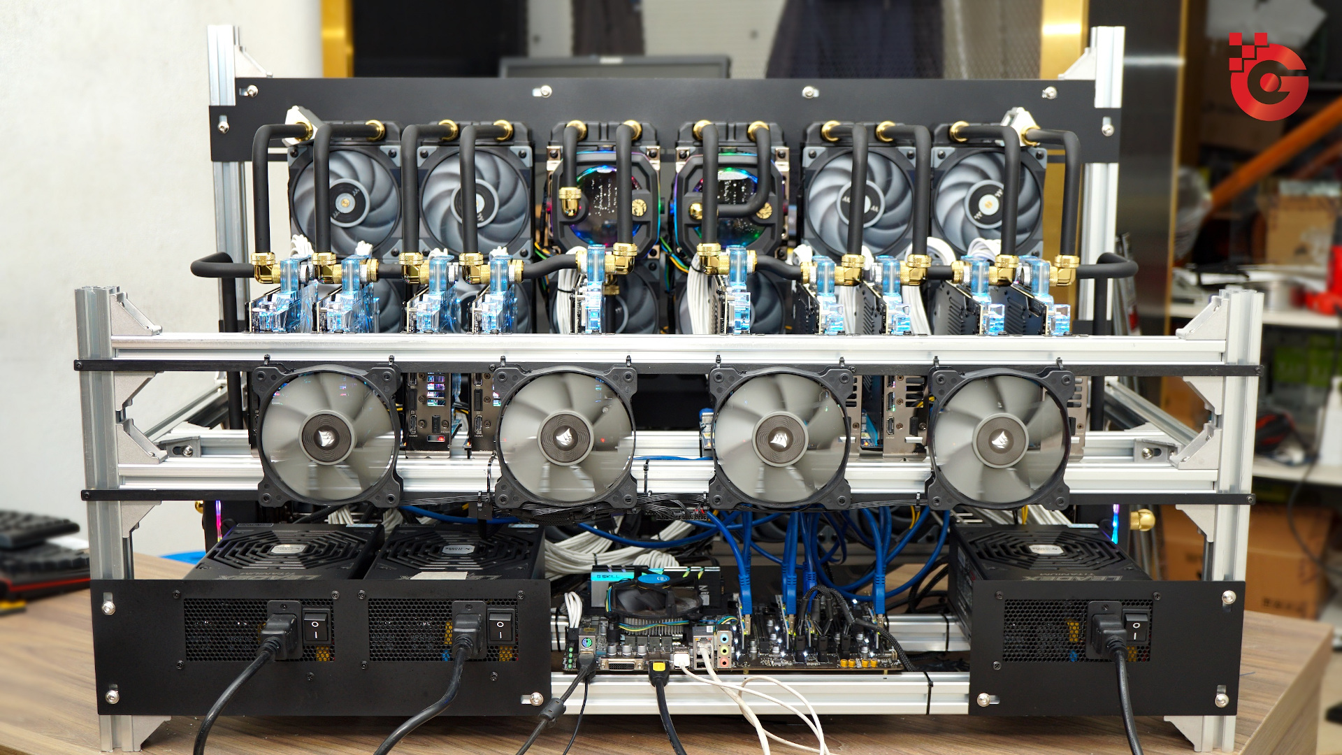 Gland Computers Mining Rig