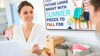 Digital Signage to Improve the Retail Customer Experience