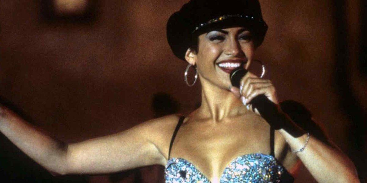 Jennifer Lopez as Selena in Selena