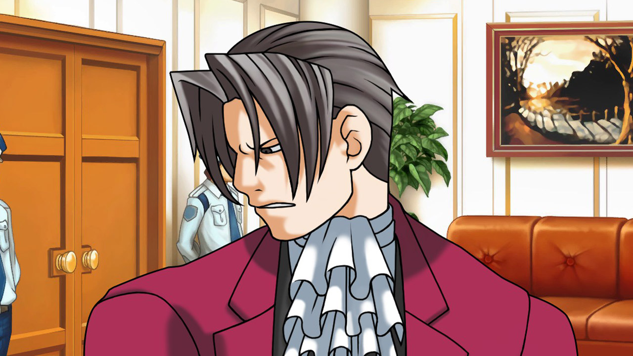 Why I Love Miles Edgeworth In Ace Attorney Pc Gamer