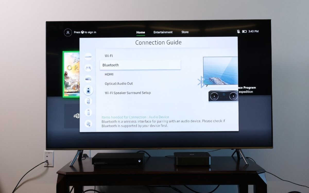 How to Pair Bluetooth Devices to Your Samsung TV - Samsung TV