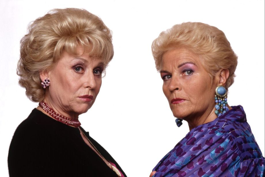 Peggy Mitchell and Pat Butcher in EastEnders