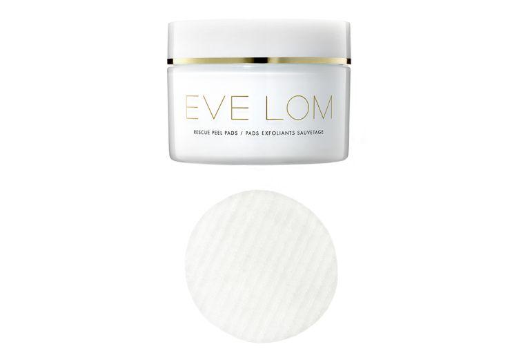 eve lom rescue peel pads unveils glowing skin one week