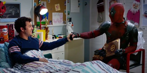 Fred Savage and Ryan Reynolds as Deadpool sing Nickelback together in Once Upon a Deadpool