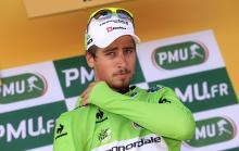 The ever consistent Peter Sagan (Cannondale) remains in the green jersey after stage 13