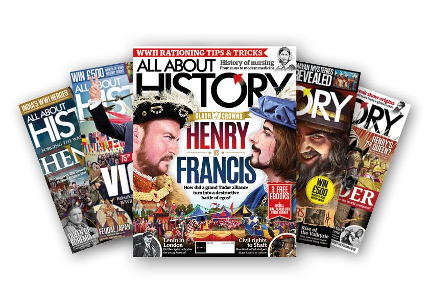 Save up to 60% on an All About History magazine subscription today