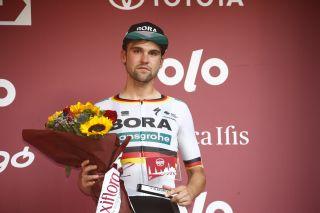 Strade Bianche 2020 - 14th Edition - Siena - Siena 184 km - 01/08/2020 - Maximilian Schachmann (GER - Bora - Hansgrohe) - photo Luca Bettini/BettiniPhoto©2020