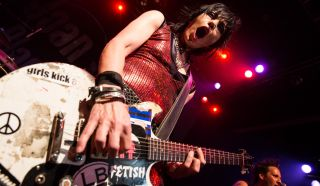 Joan Jett performs at the House of Blues Sunset Strip on August 1, 2013 in West Hollywood, California.