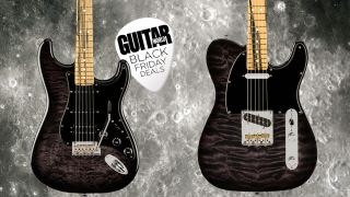 Fender Pale Moon Stratocaster HSS and Telecaster