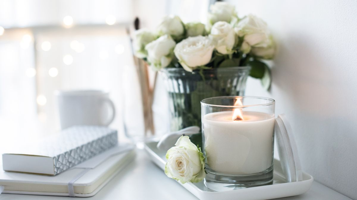 This genius hack will stop your candle tunnelling in the middle