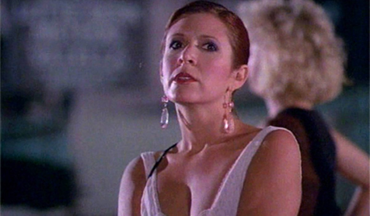 Carrie Fisher in Hollywood Vice Squad