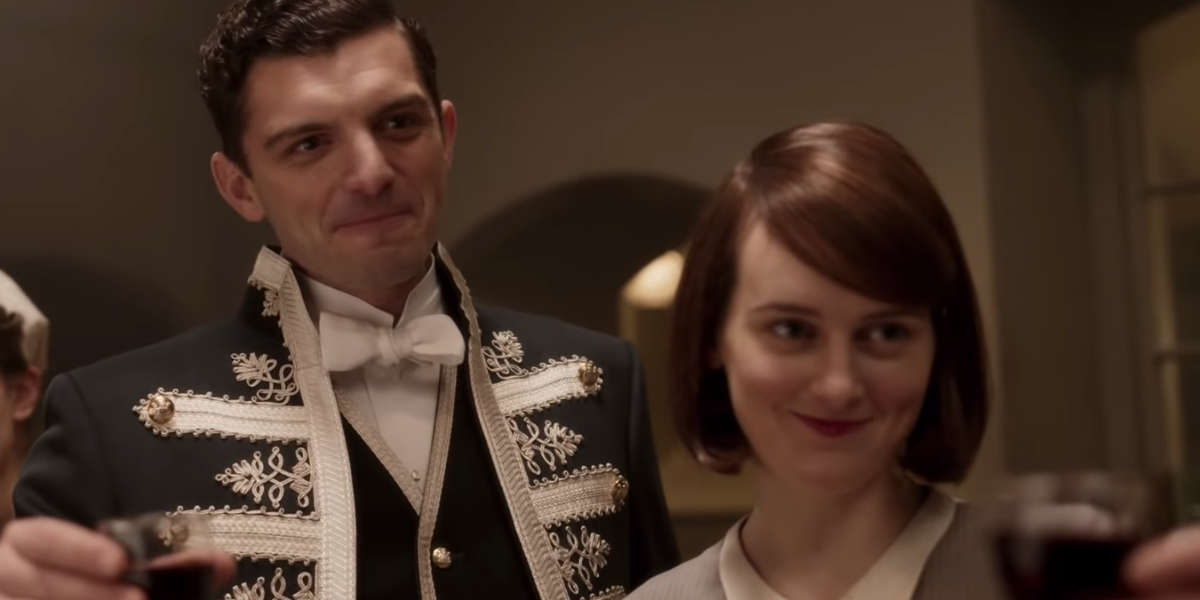 Andy and Daisy in Downton Abbey