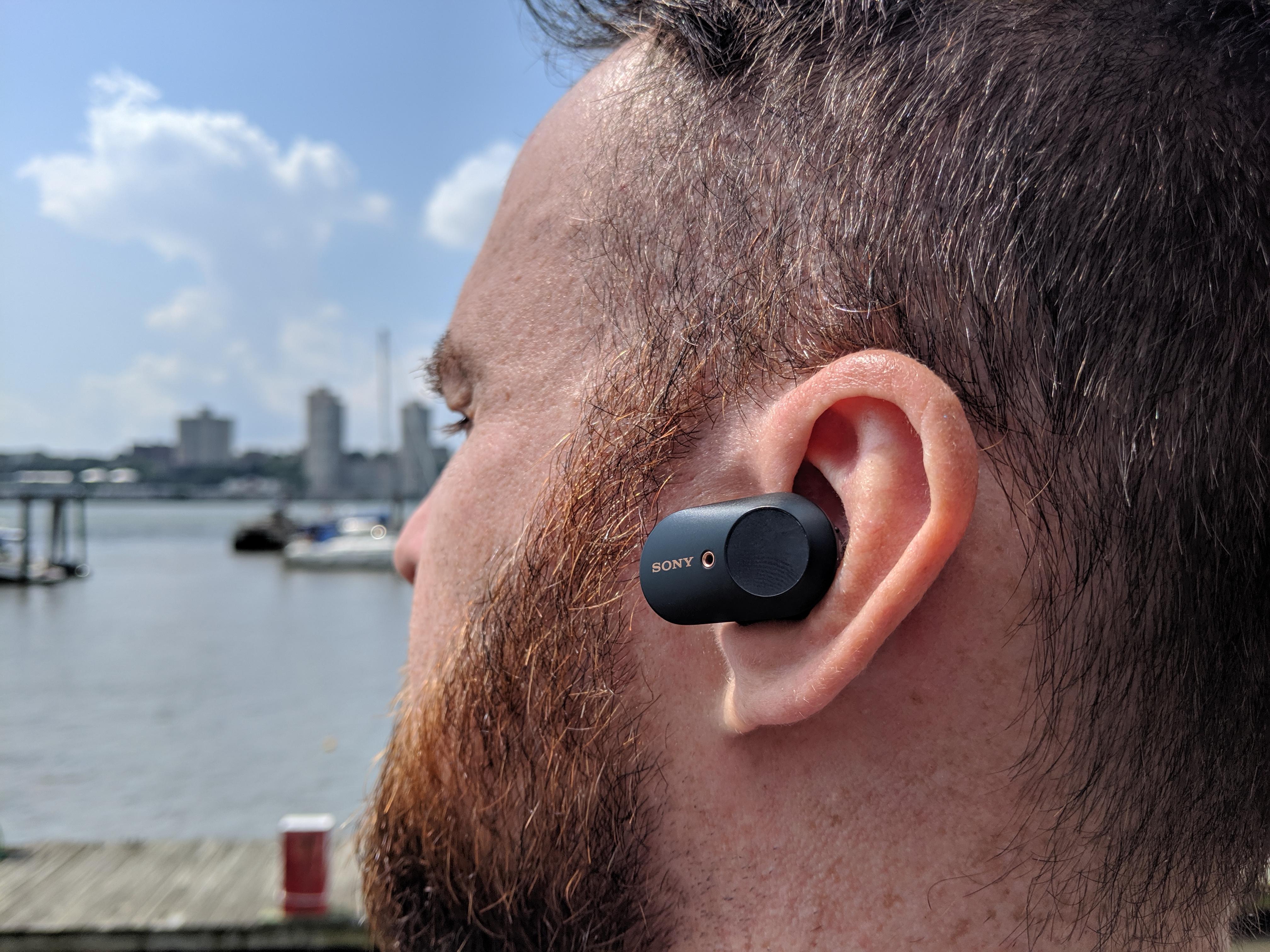 Os melhores fones de ouvido com cancelamento de ruído baratos: Sony WF-1000XM3 Earbuds